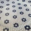 vajilla decorada mosaico