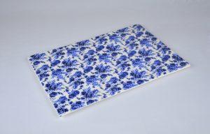 bandeja porcelana jade azul