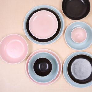 vajilla satine porcelana