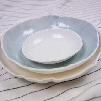 vajilla corola porcelana